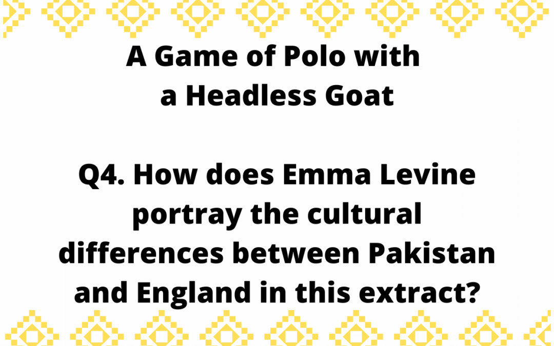 How does Emma Levine portray the cultural differences between Pakistan and England in this extract?